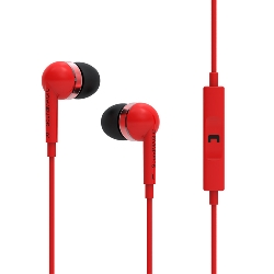 SoundMAGIC ES19s red For All Smartphones