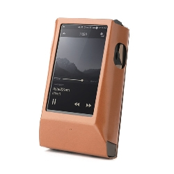 Miter Leather Case for Astell&Kern AK300/AK320  z AMPem - Brown